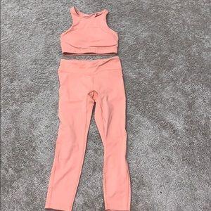 Outdoor Voices 2 piece set top XS pants S